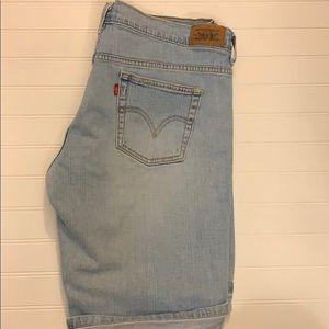 Levi 515 Blue Jean Shorts